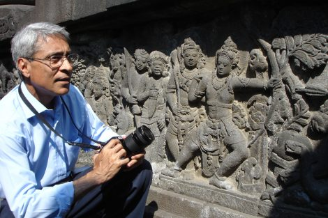 Benoy K Behl, Ramayana Relief, Prambanan temple, Yogyakarta
