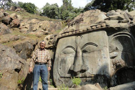 Benoy K Behl, Shiva Relief, Unnakoti, Tripura