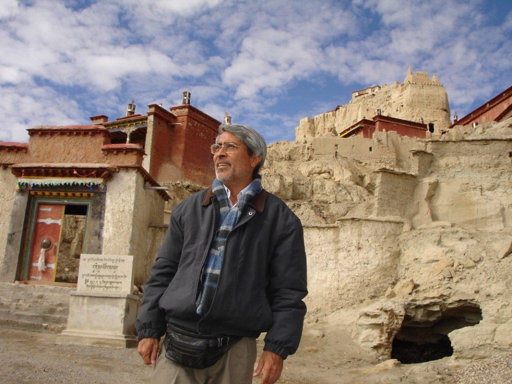 Benoy K Behl at Buddhist Monasteries