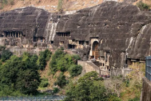 Ajanta Caves in India's Aurangabad district, are a UNESCO World Heritage Site